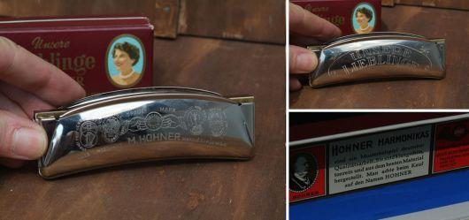 Alte M. Hohner Mundharmonika
