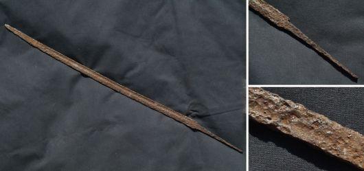 Alte Säbel-Klinge zum Restaurieren