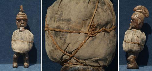 Fetisch-Skulptur aus Afrika (2. Hälfte 20. Jhd)