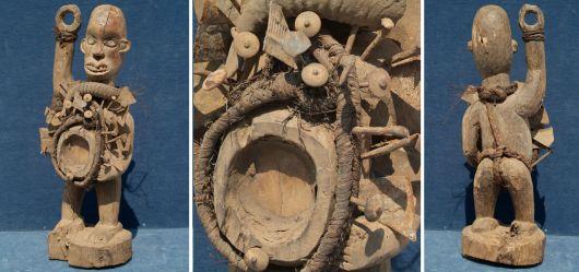 Fetischfigur Sundi / D.R. Kongo; 2. Hälfte 20. Jhd