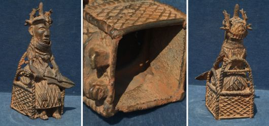 Stammesfigur aus Nigeria / Benin; Mitte 20. Jhd - sehr selten