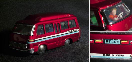 Van, Bus Traveling Car MF 298 mit Fahrer