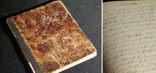 Kochbuch handgeschrieben um 1900