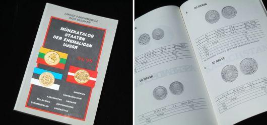 Münzkatalog Staaten der ehemaligen UdSSR 94/95