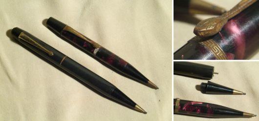 Zwei sehr interessante Bleistifte