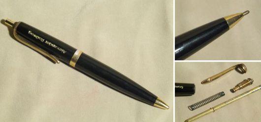 Kugelschreiber mit Werbeaufschrift
