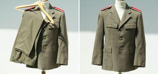 Vermutlich eine Uniform aus der Tschechoslowakei