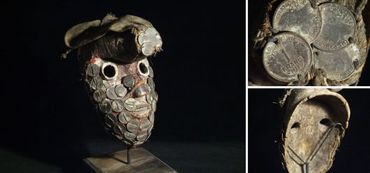 DAN Maske Elfenbeinküste Liberia um 1930