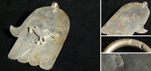 Die Hand der Fatima vermutlich 1. Hälfte 20. Jahrhundert