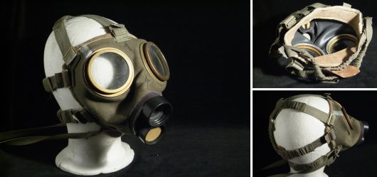 Gas mask Hungarian size 1