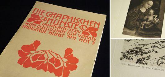 Die Graphischen Künste - Jahrgang XXXIV