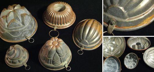 Sammlung Backformen 19. bis Anfang 20. Jahrhundert