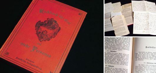 Kochbuch für drei und mehr Personen 1898