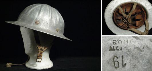 Alter Feuerwehr-Helm