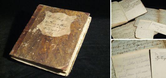 Handgeschriebenes Generationen-Kochbuch datiert 1827