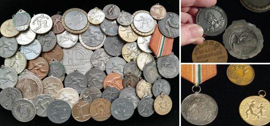 Sammlung Sport-Medaillen 1933 – 1988