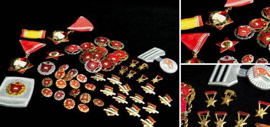 Konvolut Medaillen der ungarischen Volksrepublik