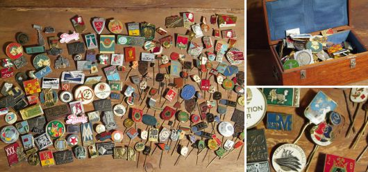 Great pin-collection