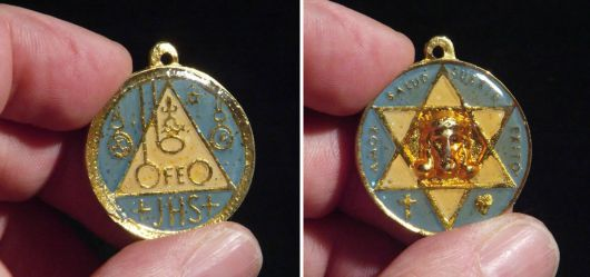 Seltenes Amulett aus Venezuela