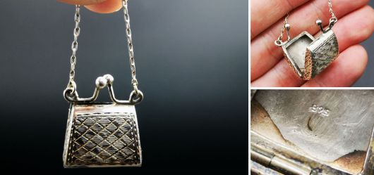 Charming pendant made of 925 silver