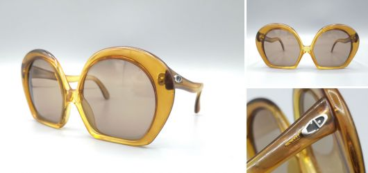 Vintage womens sunglasses from Christian Dior 1970s