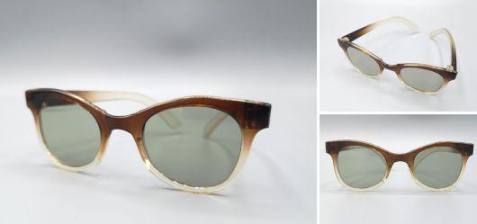 Alte Kinder-Sonnenbrille im klassischen fifties-Stil