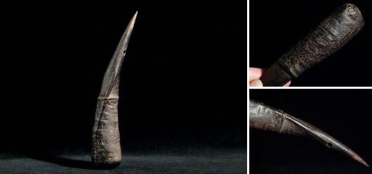 Voodoo- Amulett GriGri Kamerun Mitte 20. Jahrhunder