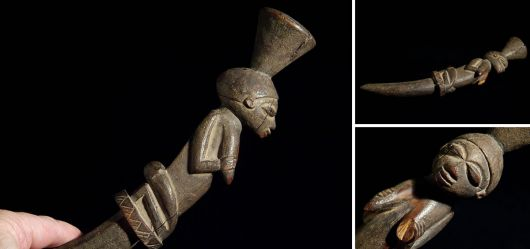 Orakelzeiger vom Stamm der Yoruba Mitte 20. Jahrhundert