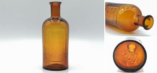 Apothekenflasche aus braunem Glas