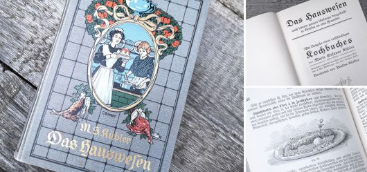Umfangreiches Kochbuch von Marie Susanne Kübler