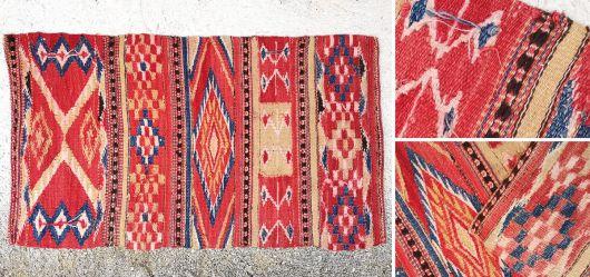 Altes Kelim-Panel für dekorative Zwecke