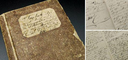 Reisetagebuch und handschriftliche Notizen 1840 – 1878
