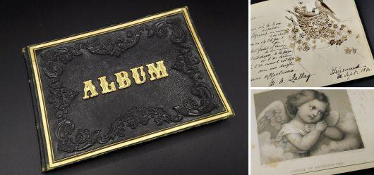 Poesiealbum der Louise 1857-1891