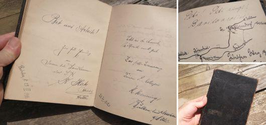 Altes Stammbuch 1909 – 1914