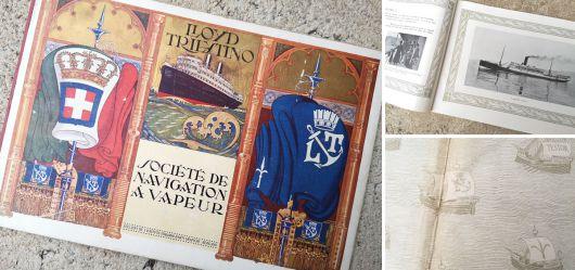 Geschichtlich wertvolle und extrem seltene Ausgabe über die Historie der Reederei 1920