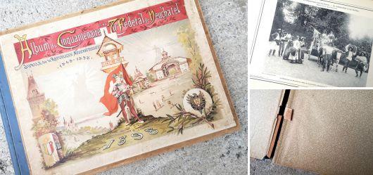 Sehr seltene Ausgabe zum 50-jährigen Jubiläum der Neuenburger Republik 1848 - 1898
