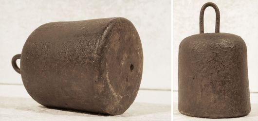 Sehr altes Eisengewicht