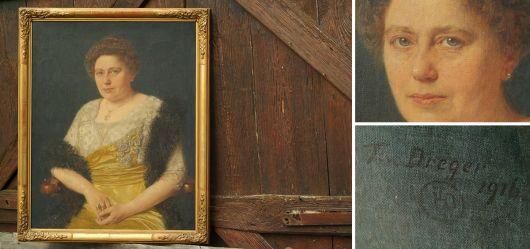 Porträt Pauline Madlé von Lenzbrugg 1865-1945