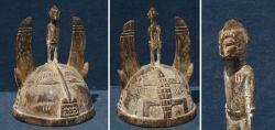 Helm aus Neuginea