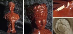 Originale Keramikbüste der Kaiserin Elisabeth (Sisi) - Selten!