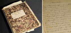 Handgeschriebenes Kochbuch um 1900