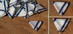 Trifold ribbon