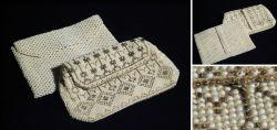 Vintage – 2x Perlentaschen
