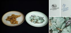 Two Collection plate for mineral collectors