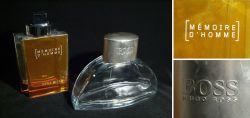 Zwei XXL Parfüm-Flaschen