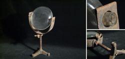Antike Schusterkugel (Schusterlampe) - Selten!