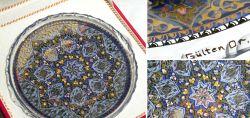 Islamischer Sammelteller aus Glas
