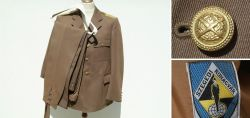 Brown Officers Uniform of the Hungarian People´s army / 1949 - 1989