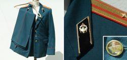 Blaue UDSSR Uniform für Offiziere aus Sowjetzeiten
