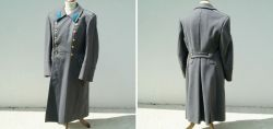 Russian army coat of an officer of the Air Force